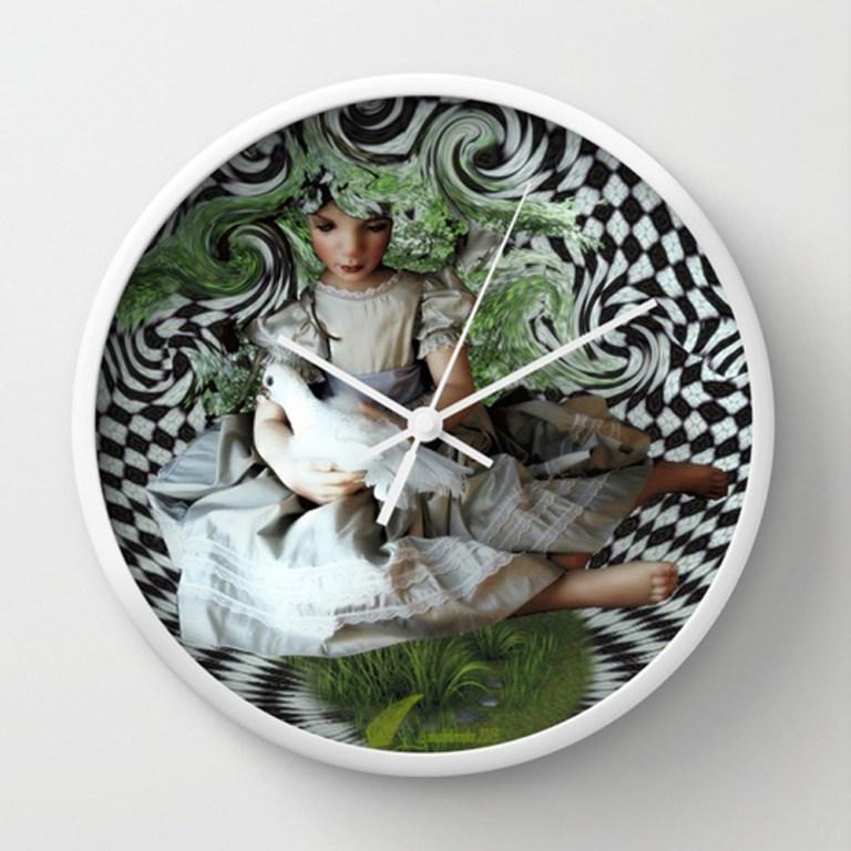 Clock,society6,annabellerockz,design,art