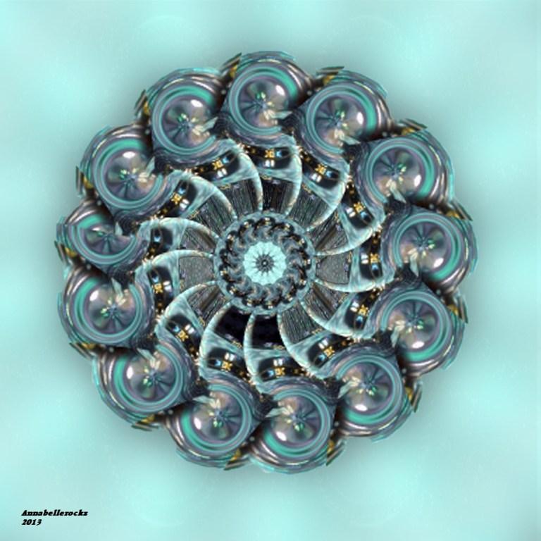 Fractal- Aqua wheel