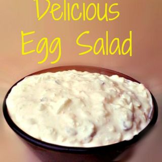 Delicious Egg Salad - Anna Can Do It!