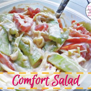 Comfort Salad - Anna Can Do It!