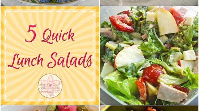 5 Quick Lunch Salads
