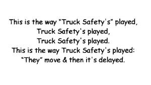 The Truck Safety game 001