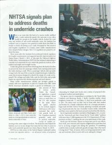 IIHS October 2014 Status Report Article First Page