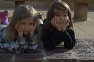 Marcus and Vanessa & the memorial bricks