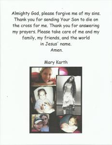 Mary's Prayer