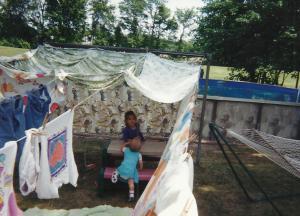 18 AnnaLeah Mary sheet tent