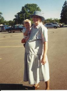 1a Mom with Caleb waiting for Mary to be born 001