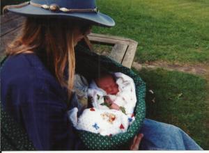 1m newborn Mary and Mama