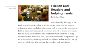 Are Writers' Workshops Really Helpful?