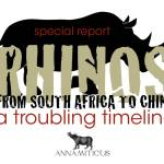 China's 'Rhino Horn Farming' Scheme: More Disturbing Details