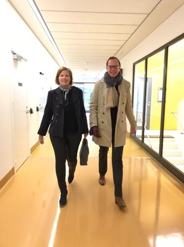 Jag och min kollega Daniel Forslund klev in på NKS samma dag som de första patienterna flyttade in.