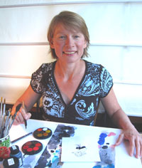 Research scientist turned children's illustrator, Gay McKinnon