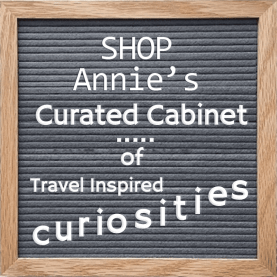 Shop at Anni's curated cabinet of travel inspired curiosities