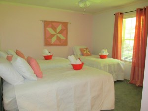 Hidden Star Retreat  Coral bedroom- sneak peek