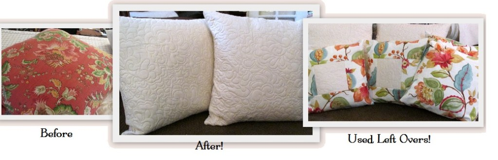 DIY Pillow Make Over