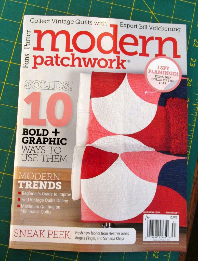 Corner Windows Quilt: Modern Patchwork magazine