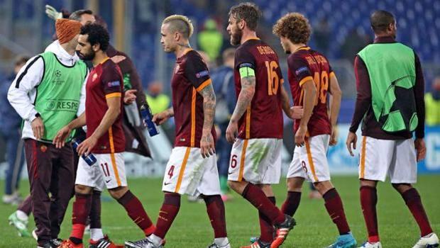 Una serata vissuta pericolosamente – Roma, Italia. Champions League