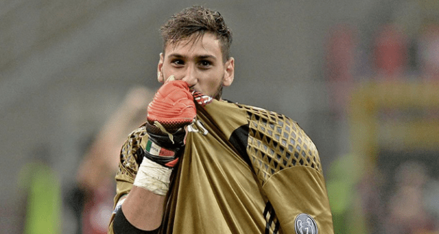 Bandiera ammainata - L'addio di Donnarumma