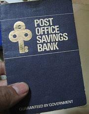 Savings passbook