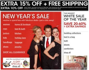 After Christmas Sales page