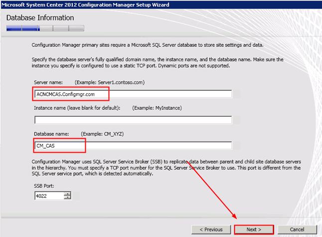 Sql server broker service port