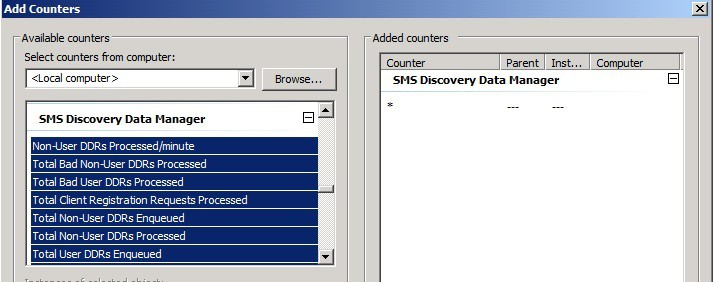 sccm 2012 configmgr2012  ConfigMgr 2012 How to Find Out DDRs Processing Rate