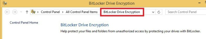 Bit Locker Encryption