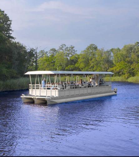 boat ride brookgreen