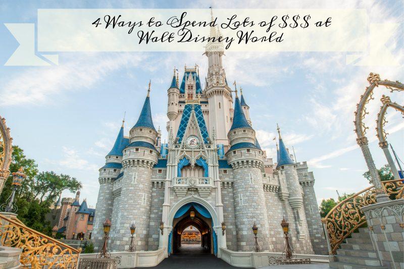 Spend Money Disney World