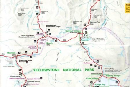 Map Of Yellowstone Park - Yellowstone map