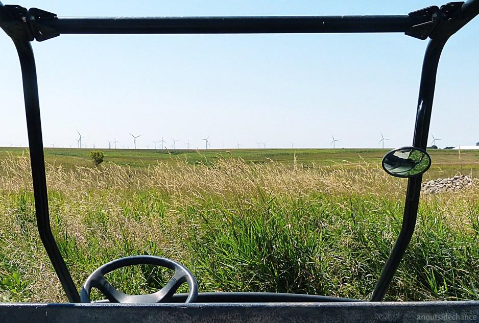 Wind turbines in southwestern Minnesota