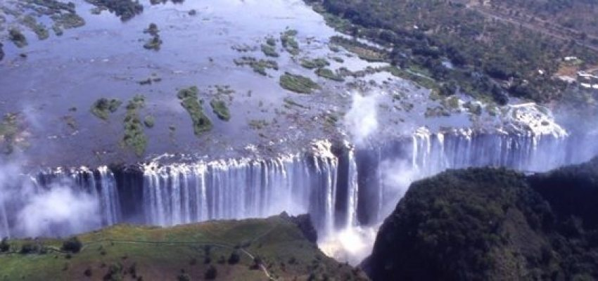 Victoria Falls - tourist attractions in Africa