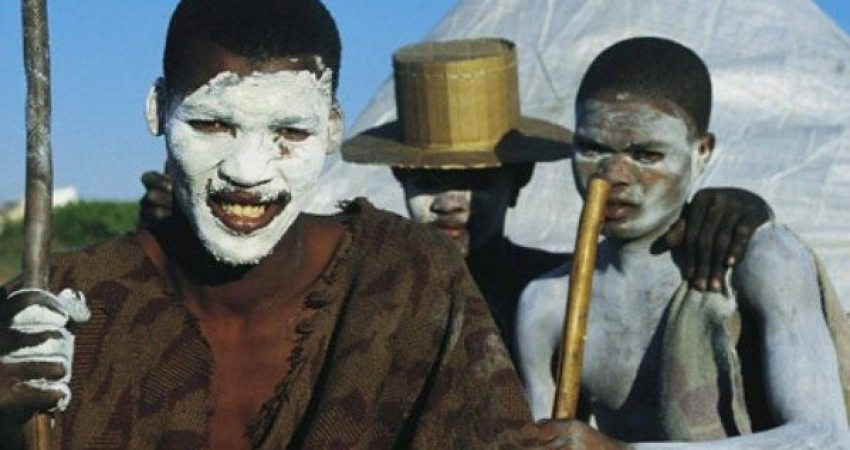 Circumcision in Africa South Tribe Xhosa