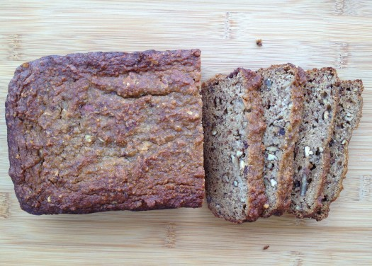 paleo diet challenge day 11 banana bread