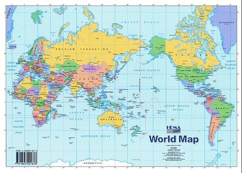 Social Science World Map