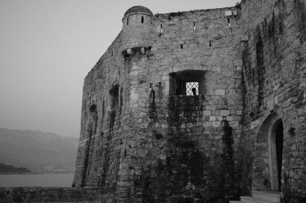Castle wall, Monenegro