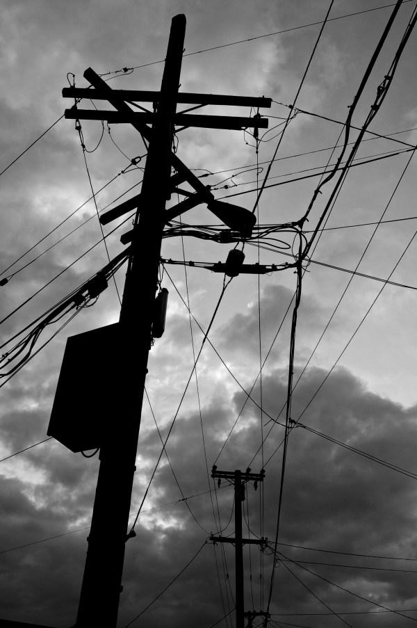 telephone pole, berkeley, California