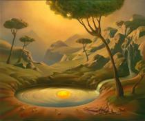 Πίνακες του Vladimir Kush