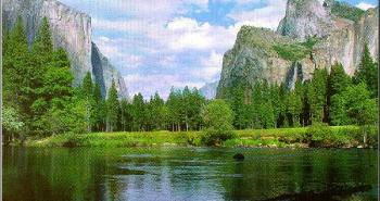 YosemiteValleyWithRiverByChristineWhiteLoberg