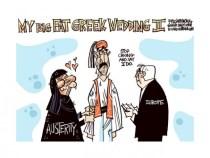 Aνασκόπηση Απριλίου μέσω γελοιογραφιών