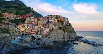 Manarola, μια μικρή πόλη στην βόρεια Ιταλία.