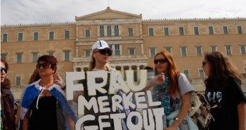 Demonstration against Merkel visit in Athens