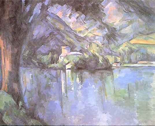 cezanne-Lake at Annecy