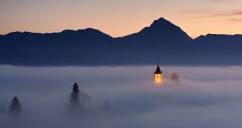 Jamnik, μικρό χωριό στη Σλοβενία