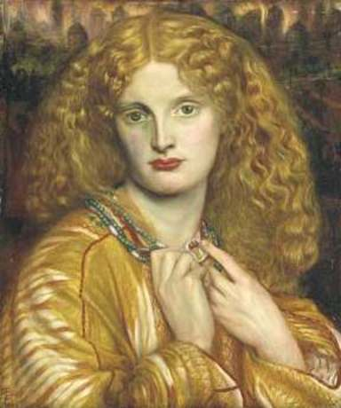 "ROSETTI - ""HELEN OF TROY"", 1863"