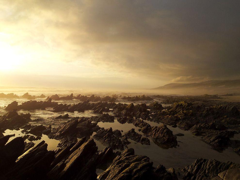 Ηλιοβασίλεμα στη Νότια Αφρική