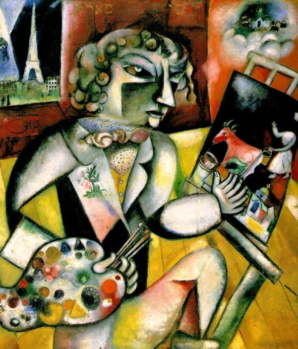 Self-Portrait with Seven Fingers