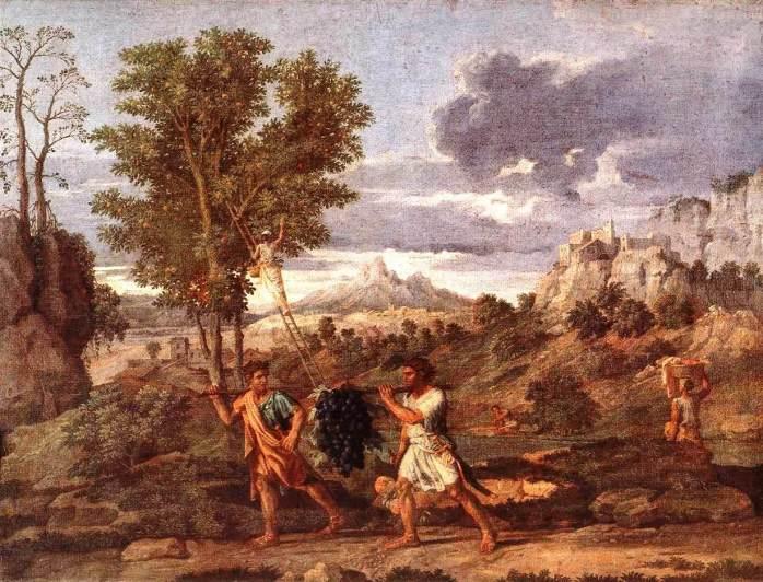Nicolas Poussin - 1660-1664 - Ο πίνακας βρίσκεται στο Λούβρο