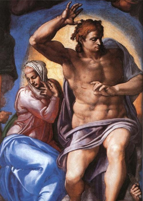 Αν όλοι στον πίνακα είναι όμορφοι και γυμνοί, τότε βλέπε πίνακα του Michelangelo.