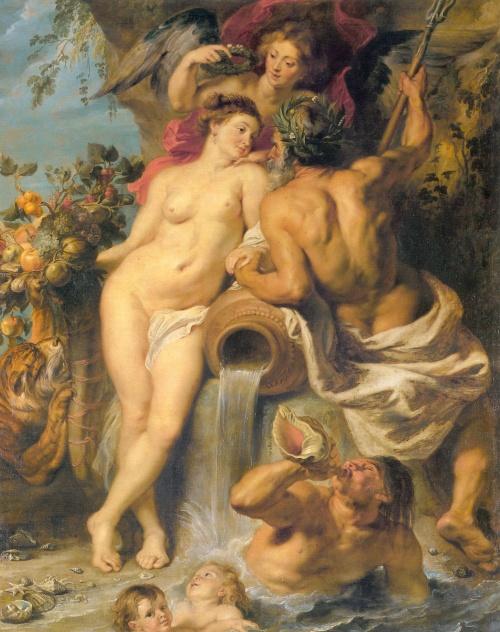 Αν όλα τα πρόσωπα στον πίνακα έχουν τεράστια... οπίσθια, τότε ζωγράφος είναι ο Rubens.